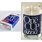 【セット買い】ワンカップ大関 ミニ寸線香 1個 & ローソク