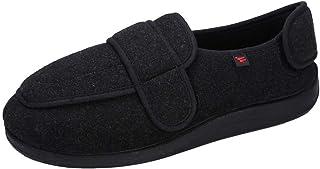 CWAIXXMM Chaussures Diabétiques pour Hommes, Chaussons Diabétiques en Mousse Viscoélastique Unisexuels pour Soulager L'éla...