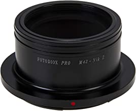 Fotodiox Pro Lens Mount Adapter Compatible with M42 Type and Select Type Lenses Nikon Z-mount Cameras