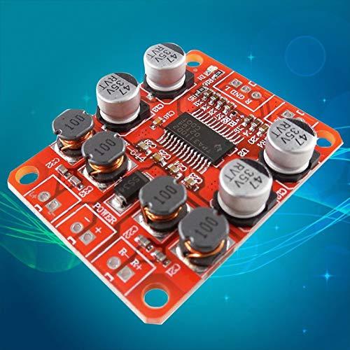 HW-644 TPA3110 Chip Amplificador de Potencia Digital Módulo 2x15W Sonido estéreo de Doble Canal Tablero Amplificador de Altavoces DIY - Rojo