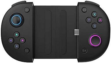 LMDS Retráctil Joystick Gamepad Controlador de Juegos inalámbrico, no es Adecuado for los teléfonos de Apple, Android Micro Puerto de Carga USB Teléfonos