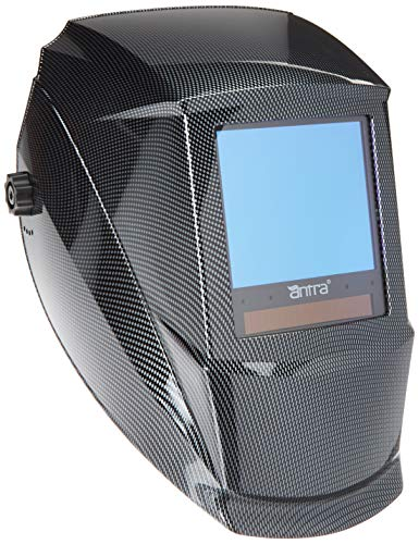 Antra AH7-860-001X Auto Darkening Welding Helmet Huge Viewing Size 3.86X3.5' Wide Shade Range...