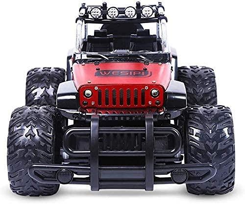 YIQIFEI 2.4GHz 1/12 4WD Rock Crawlers 4x4 Conducción de automóviles Motores Dobles Conducir Big Foot Coche Control Remoto Modelo de automóvil Vehículo Todoterreno (Inteligente)