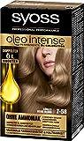 Syoss Oleo Intense Haarfarbe, 7-58 Kühles Beige-Blond, 3er Pack (3 x 115 ml)