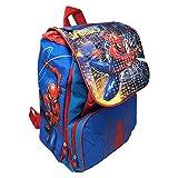 zaino Spiderman Uomo Ragno Marvel Estensibile Borsa Scuola ELEMENTARE CM. 40X29X28 - SP0450