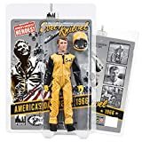 Figures Toy Company Evel Knievel 8 Inch Action Figures Series: Black and Yellow 1966 Jumpsuit Variant