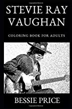 Stevie Ray Vaughan Coloring Book for Adults