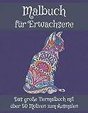 MALBUCH FÜR ERWACHSENE Das große Tiermalbuch mit über 50 Motiven zum Ausmalen: Wundervolle Tierwelt mit Tiermandalas die Welt der Tiere - Malen zum ... Kopiervorlage für Eltern u PädagogInnen