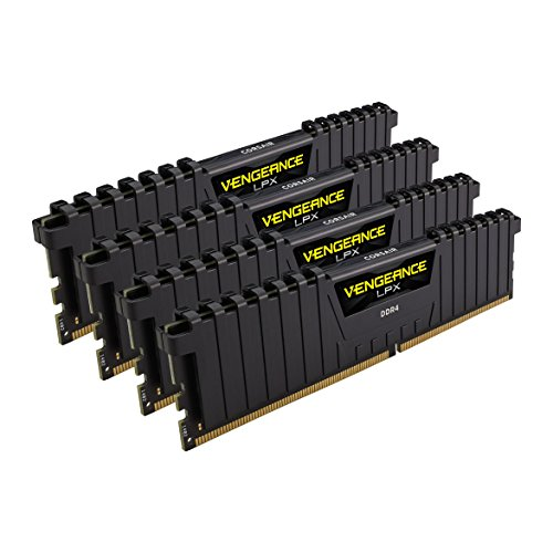 Corsair Vengeance LPX 32GB (4 x 8GB) DDR4 DRAM 2666MHz (PC4-21300) C15 memory kit for DDR4 Systems