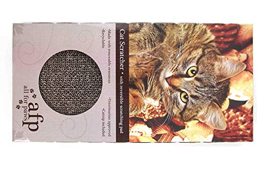 ALL FOR PAWS Grattoir Double pour Chat Moderne
