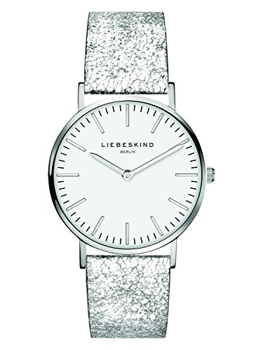 Liebeskind Berlin Damen Analog Quarz Uhr mit Leder Armband