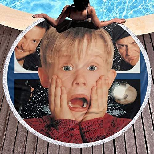 H-ome A-lone - Toalla de baño de microfibra extragrande para natación, spa, viajes, yoga, deportes, camping, tumbonas o ducha