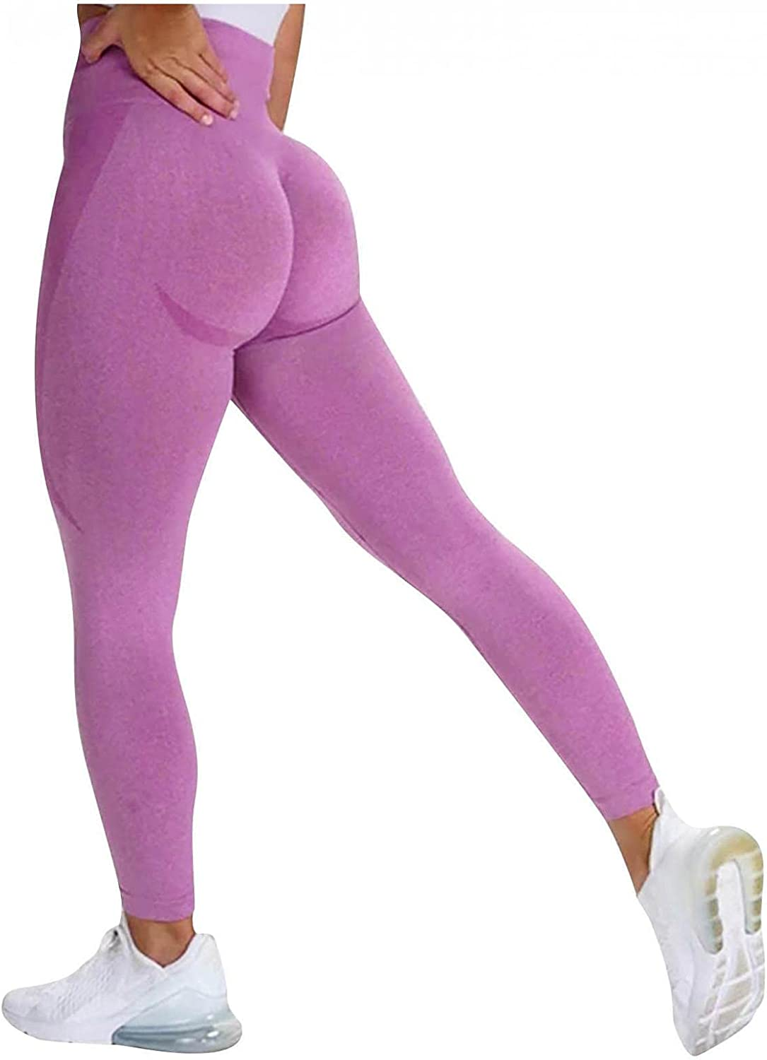 Thklokt 100% quality New product!! warranty Women Scrunch Butt Leggings Ruched Waisted Yoga Pan High