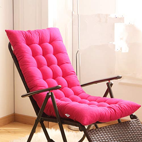 YYRZGW Cojín De Asiento Espuma de Memoria Cojín de sillón Cojin de Silla para Respaldo Se Adapta a la Silla de Oficina Silla de Escritorio sillas de Comedor-Rosa