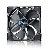 Fractal Design Venturi HP-14 PWM Black, Lüfter für (High End) Gaming PC Gehäuse, schwarz