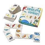 Talking Tables Dino Dinosaur Dominoes Game