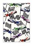 Alfombra infantil, alfombra de juego Formula 1 / Fórmula 1 - Coche de carreras rápido en colores afilados (120 cm x 170 cm)