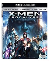 X-men: Apocalypse 4k Ultra Hd [Blu-ray]