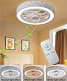 JYTBD Yun TAO Exquisite Lamps E Telecomando Silenzioso Creativo Invisibile for Camera Bambini Soggiorno Camera da Letto Chiaro, Grigio