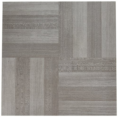 Achim Home Furnishings FTVWD23120 Nexus Self Adhesive 20 Vinyl Floor Tiles, 12