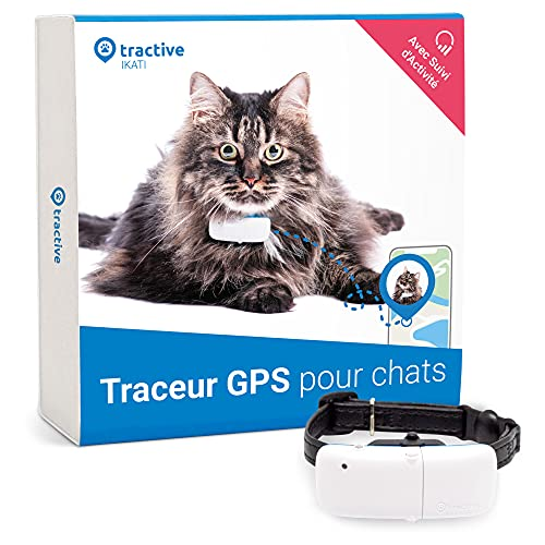 Tractive collier GPS pour chat,...
