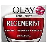 Olay Regenerist Plus, Crema Facial de Día, Fórmula con Vitamina B3 y Niacinamida, 24h de Hidratación, 50 ml