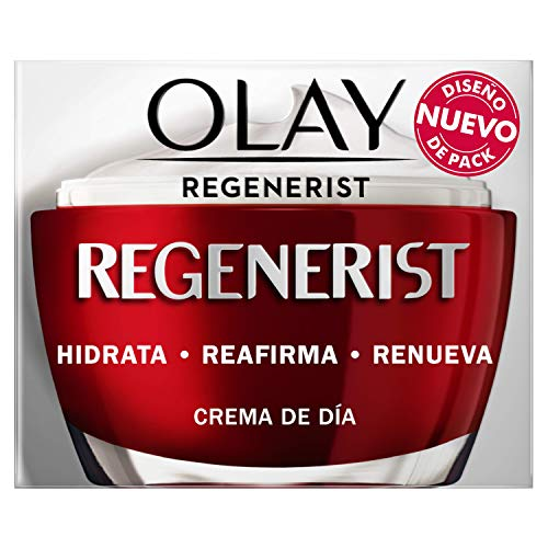 Olay Regenerist Crema Facial de Día, Fórmula con Vitamina B3 y Niacinamida, 24h de Hidratación, 50 ml