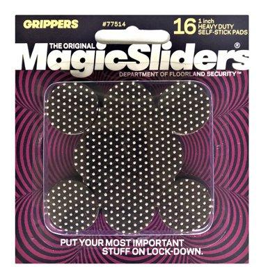 Magic Sliders 77514 Heavy-duty Self-stick Gripper Pad, 1'