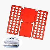 LIZHIOO 2 Stücke Kleidung Faltbrett, Einfache Ordner Kleidung T-Shirt Lagerregner, Ordentlich Und...