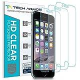 Tech Armor Matte Anti-Glare/Anti-Fingerprint Film Screen Protector for Apple iPhone 6S / iPhone 6 (4.7-inch) [3-Pack]