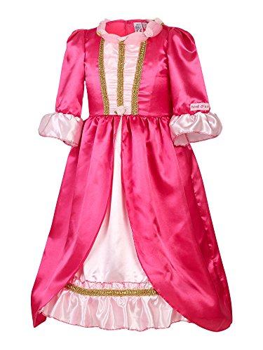 Rose & Romeo - 10079 - Costumi per Bambini - Marilyn - Vestito - Rosa
