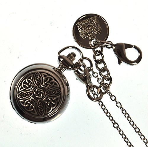 Ladies Pendant Watch with Celtic Knot