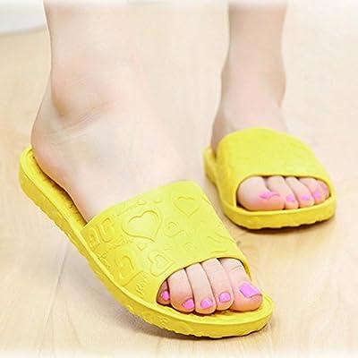 Tenworld Anti-Slip Flat Bath Slippers Slide-on Women's Shower Poolside Sandal
