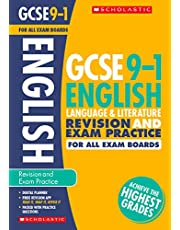 GCSE English Language & Literature Revision Guide & Practice Book for All Boards. Achieve the Highest Grades for the 9-1 Course inc free revision app (Scholastic GCSE Grades 9-1 Revision & Practice)