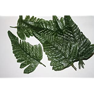 25 fern leaves artificial flowers foliage greenery by floral natalie:Hotviral
