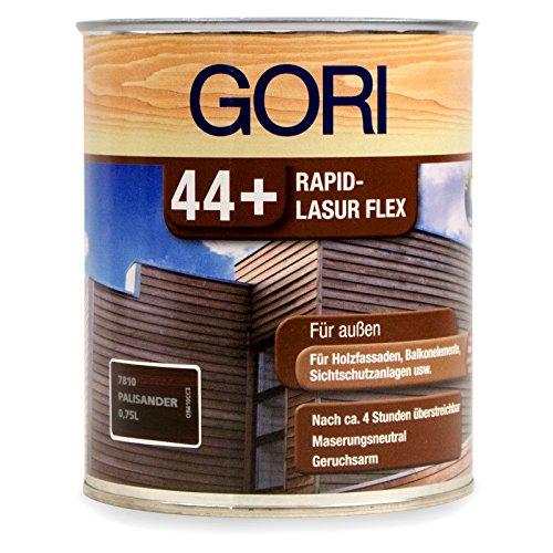 0,75L Gori 44+ 7810 Palisander Rapid-Lasur Flex Außenlasur Holzlasur