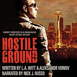 Hostile Ground audiobook cover art