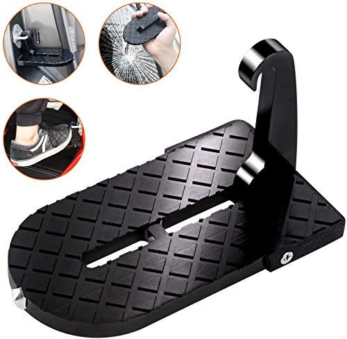 SDXZ Autodach-Haustür - Multifunktions-Faltbare Autodachträger, U-förmige Türstufe, Auto-Fußrasten-Türschwelle aus strapazierfähiger Aluminiumlegierung, die bis zu 550 Pfund trägt