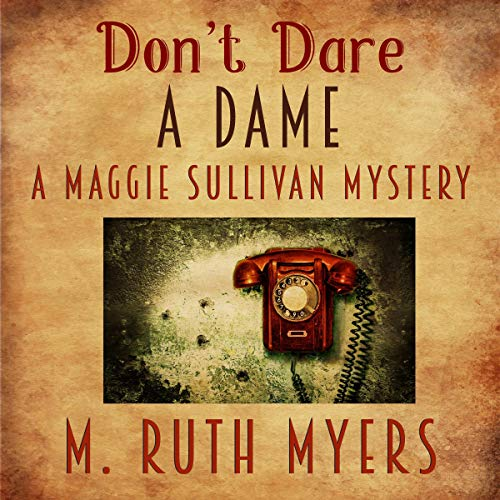 Don't Dare a Dame audiobook cover art