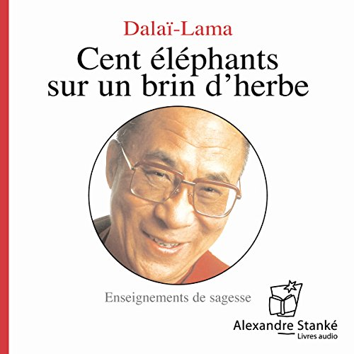 Cent éléphants sur un brin d'herbe  audiobook cover art