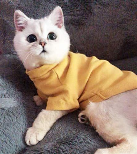 ZHAOYAN Huisdier Kat Kleding Jonge Kat Kleine Melk Kat Haarloze Kat Hond Netto Rood Lente Zomer Kleding Leuke Onderhemd Om Haar Voorkomen