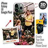Samsung Galaxy S9 Plus Case, Your Own Custom iPhone & Galaxy Photo Cover 3D Matte Personalized Case for Gift for Samsung Galaxy S9 Plus