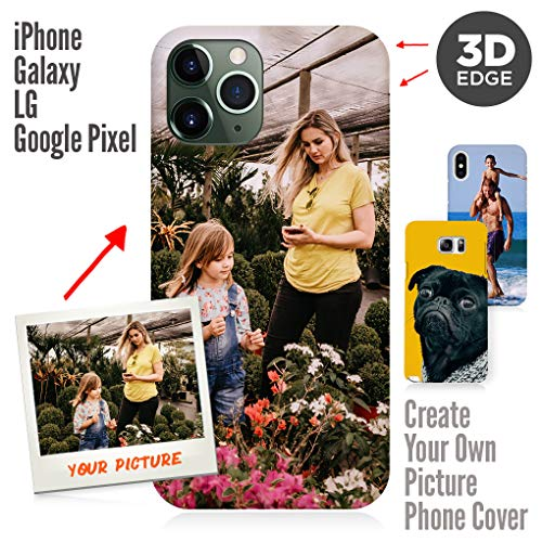 Apple iPhone Xr Case, Your Own Custom Photo 3D Matte Case Personalized Phone Cover