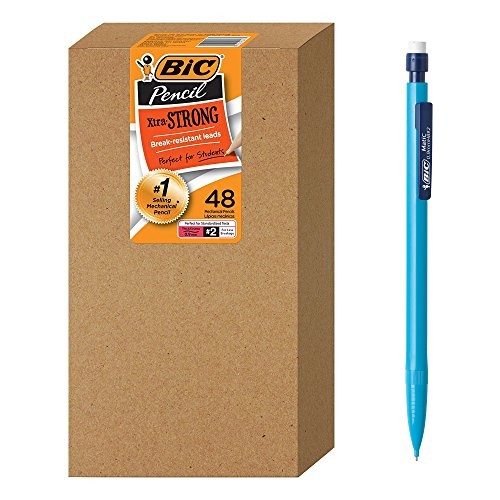 48 CT BIC Xtra-Strong Mechanical Pencil Pack $7.26 (64% Off)