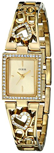 GUESS Devotion Gold-tone Ladies Watch U95081L1: Watches