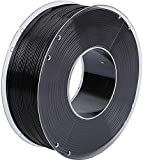 CriArt3D PLA Filament 1.75 mm schwarz 1kg Spule für 3D Drucker oder 3D Stift