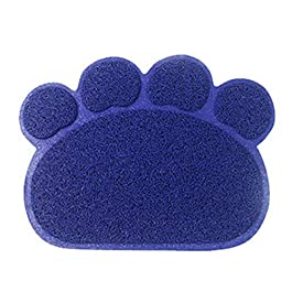 LIXIFF Paw Dog Cat Litter Mat Puppy Kitty Dish Feeding Bowl Placemat Tray Easy Cleaning Sleeping Pad Pet Cat Dog Accessories