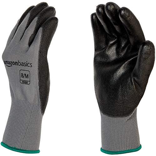 AmazonBasics Polyurethane Coated Work Gloves