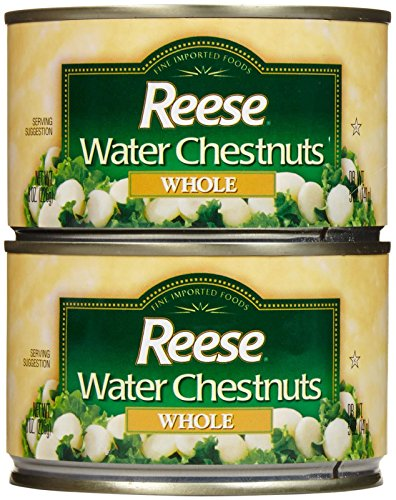 Reese Whole Water Chestnuts-8 Oz-2 Pack