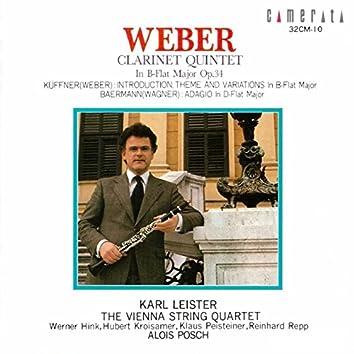 Weber: Clarinet Quintet, Op. 34